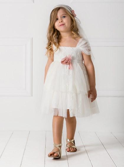 Βαπτιστικά Ρούχα για Κορίτσια στο Ηράκλειο - Εν Λευκώ  d6970c9b10a